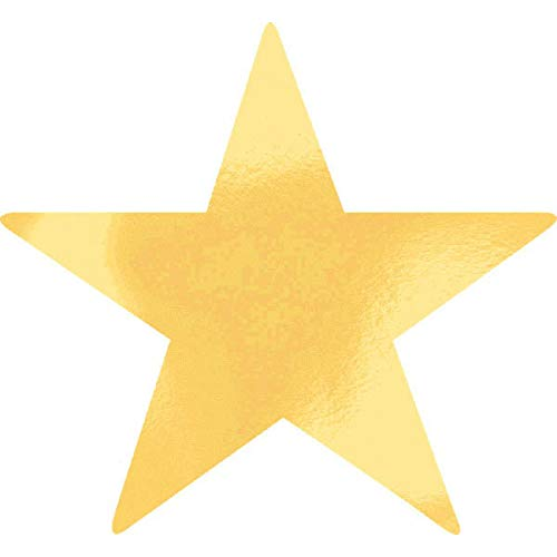 Star Cutouts | Gold | 9