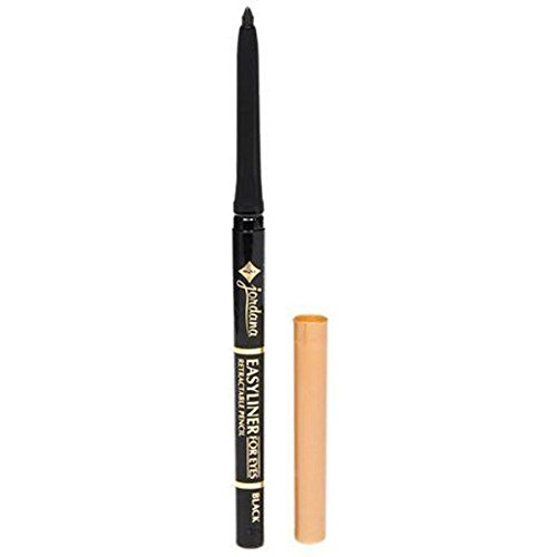 Jordana Easy Eye Liner Pencil Black
