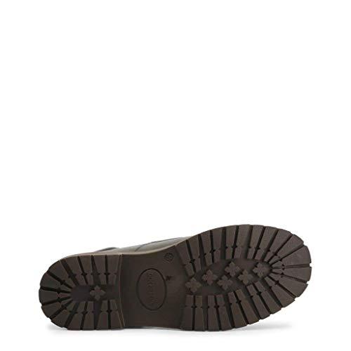 Uomo Giallo black grey Tronchetto Pelle Dse101196 Dk Docksteps 0pvxII