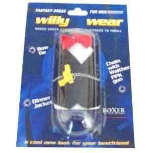 Costume Ideas Spy Party (Boxer Novelty Gift'S Spy Willy Wear Party)