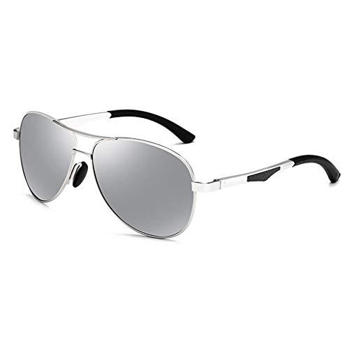 Vogue Running Hombres Personalidad el Gafas E de Aviador UV los Conduce Que de Espejo sol Polarización qXtxTABt