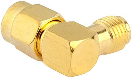 JINYANG Excellent Gold Plated RP-SMA Male to RP-SMA Female Adapter