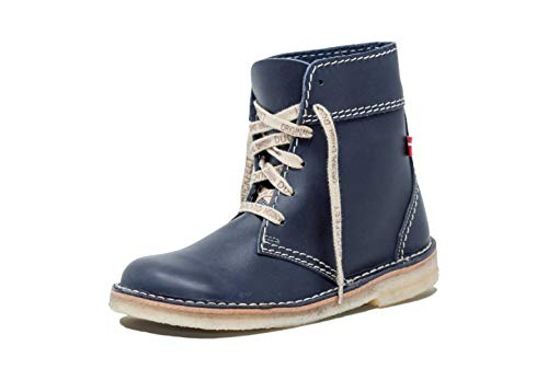 Duckfeet Faborg Leather Ankle Boot,Blue Leather,EU 39 M ()