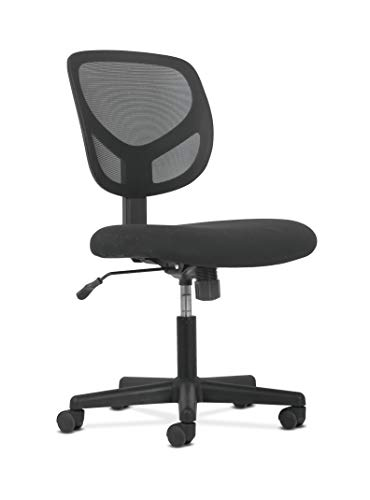 (Sadie Swivel Mid Back Mesh Task Chair without Arms - Ergonomic Computer/Office Chair)