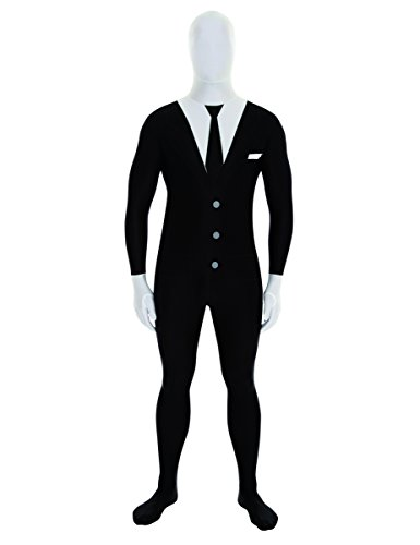 White Morphsuits (Morphsuits Mens Suit Black/White X-Large)