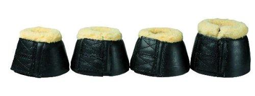 Double Velcro Bell Boots (Fleece Bell Boots w/Double Velcro)