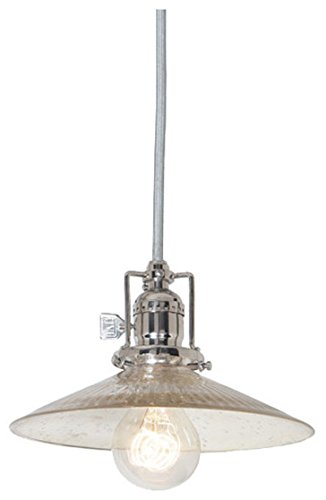 Mouth Blown Glass Pendant Light in US - 8
