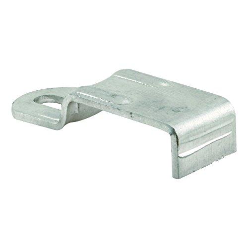 Prime-Line Products Pl 8030Keller visualización Camilla Clip con tornillos (Pack de 12), aluminio