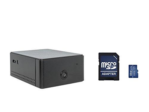 Brickhouse Security CAM-WiFi KIT Camscura WiFi w/ 32GB SD 720p HD Hidden Camera, Remote Covert Black Box Surveillance (with 32GB SD Card)