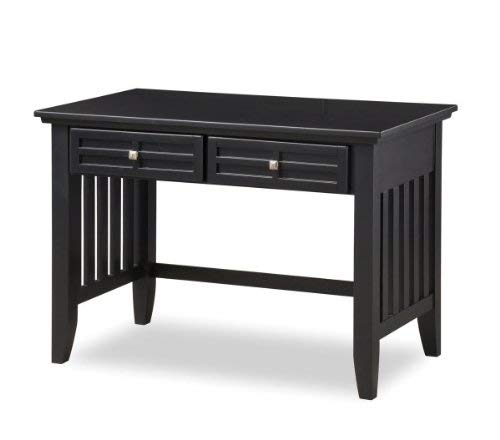 - Arts & Crafts Black Student Desk by Home Styles