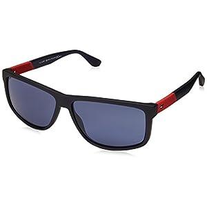 Sunglasses Tommy Hilfiger Th 1560/S 0FLL Matte Blue/KU blue avio lens