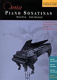 Faber Piano Adventures Piano Sonatinas Book 4 Early Advanced - Faber (6 Sonatinas Music Book)