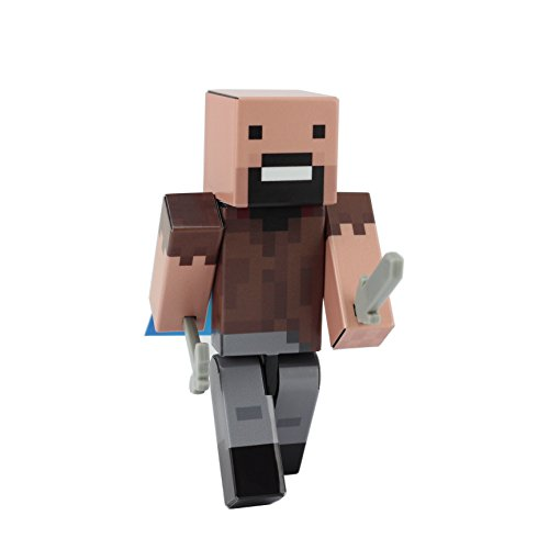 Minecraft Costume Mod Popularmmos (Bald Guy Action Figure Toy, 4 Inch Custom Series Figurines by EnderToys)