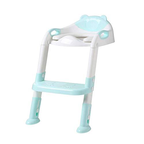 Kinderpotje, zitje Kindertraining Veiligheidstoiletbril met verstelbare ladder