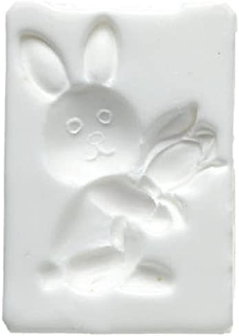 Silikomart Silicone Mould Sugarflex Rabbit with Tulip, White