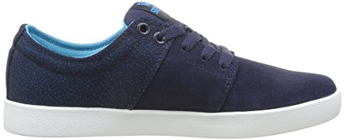 Supra Stacks Ii, Unisex Adults' Low Blue (Navy/White)