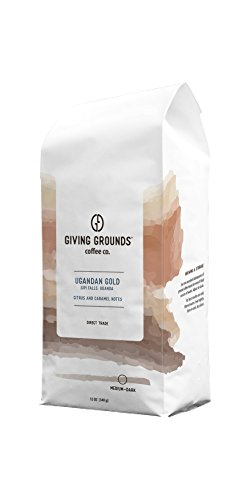 Giving Grounds Coffee - Ugandan Gold - Single Origin - Sipi Falls, Uganda - 100% Arabica - Medium/Dark Roast