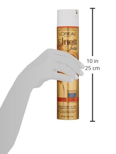 L'Oréal Paris Elnett Satin Extra Strong Hold Hairspray - UV Filter, 11 oz.
