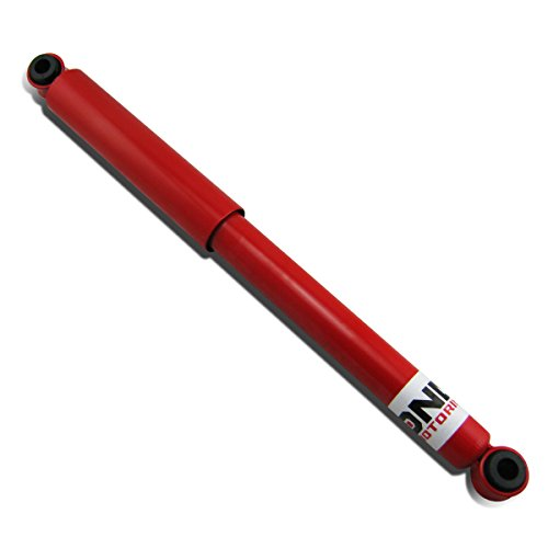 DNA Motoring For Pickup Truck Red Powder Coated Mild Steel Rear Gas Shock Absorber