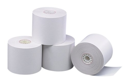 PM Company Perfection POS Black Image Thermal Rolls, 2.25 Inches X 230 Feet, White, 50 per Carton (05225) by PM Company