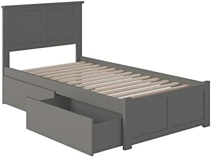 Atlantic Furniture Madison Platform 2 Urban Bed Drawer