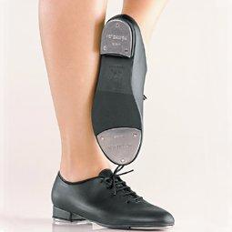So Danca TA04 Black Lace Up Tap Shoe (Child US 13.5)