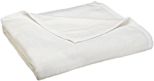 Peacock Alley All Seasons Blanket, Queen, White (Season Blanket)