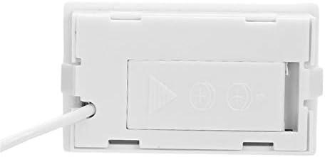 Termómetro digital Refrigerador Blanco congelado, Refrigerador LCD ...