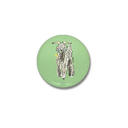 CafePress goat big Mini Button 1