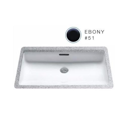 Ebony Undercounter Lavatory - 3