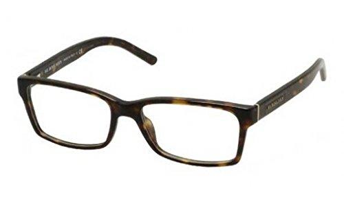 Burberry BE2108 Eyeglass Frames 3002-5416 - Dark Havana - Uk Burberry