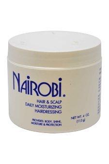 - Nairobi Hair and Scalp Daily Moisturizing Hairdressing Unisex, 4 Ounce