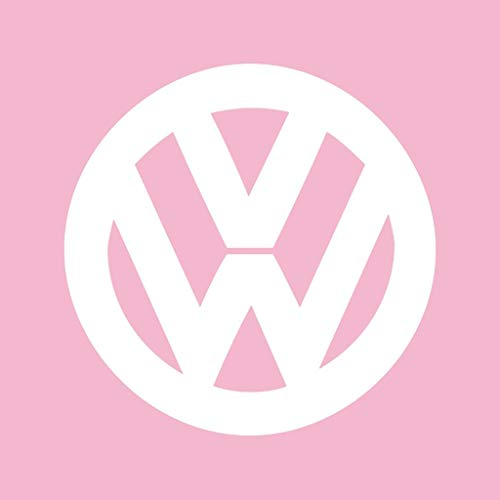 Light VW Official Pink Logo Classic Women's Shirt White T Volkswagen nCtzqWtrT8