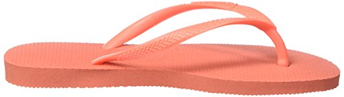 Havaianas Slim, Chanclas Niñas Naranja (Orange Cyber 6678)