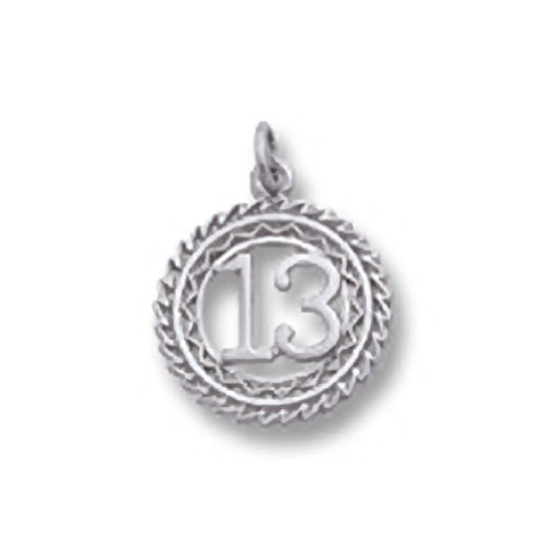 Number 13 Charm, Charms for Br