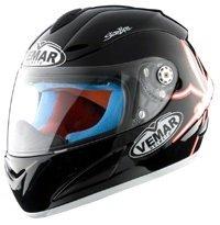 Casco integral de moto Vemar VSR 1R8 Talla XS