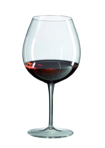 Ravenscroft Crystal Burgundy Glass, Set of 4
