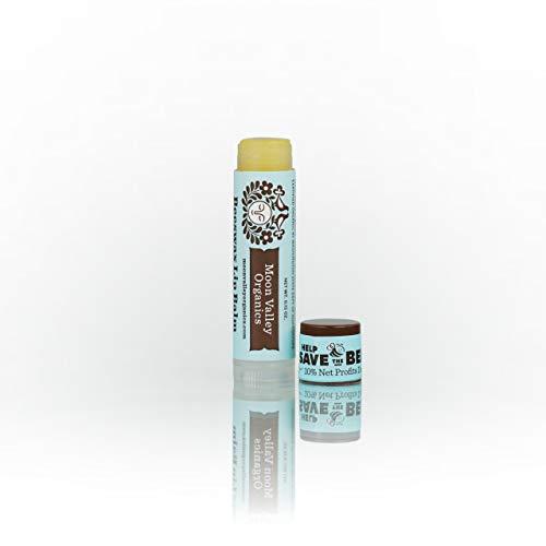 Moon Valley, Organic Herbal Lip Balm Mint Vanilla, 0.15 Ounce