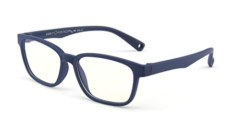 Anti Blue Light Glasses for Kids Computer Glasses,UV Protection Anti Glare Eyeglasses Computer Glasses Video Gaming Glasses for Children (Deep Blue)