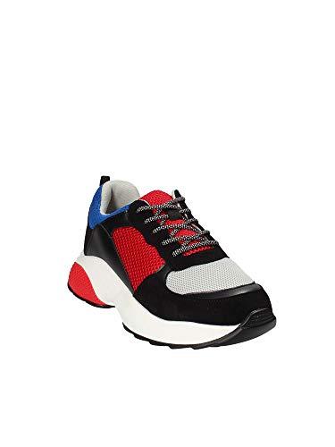 Gt532 Donna Sneakers amp; Gold Nero B18 41 wqZz6WEHx