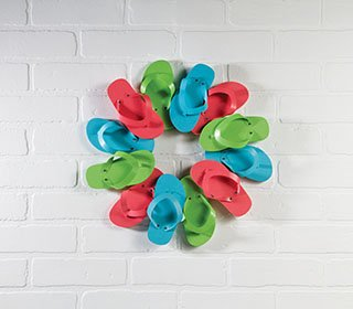 Flip Flop Candle Ring Wreath
