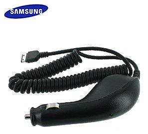 Samsung Sgh T929 Phone - OEM Rapid Car Charger with IC Chip (CAD300SBEB) for Samsung Memoir SGH-T929 / SCH-R211