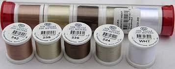 YLI Silk Sampler thread 200m Assorted