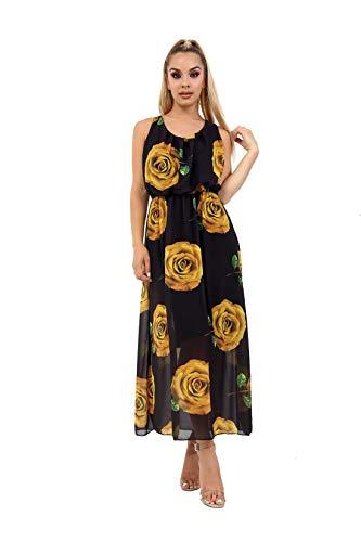 Janisramone - Vestido - Sin Mangas - para Mujer: Amazon.es: Ropa y accesorios