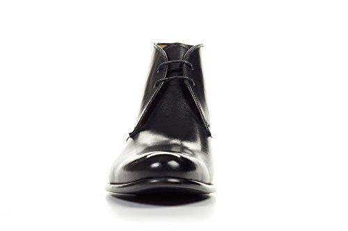 Paul Evans Newman Chukka Boot - Nero Nero