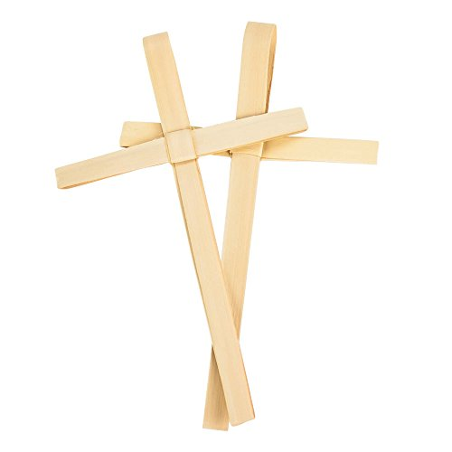Concordia Supply Palm Sunday Outreach Palm Crosses - Dried African Palm Crosses 6