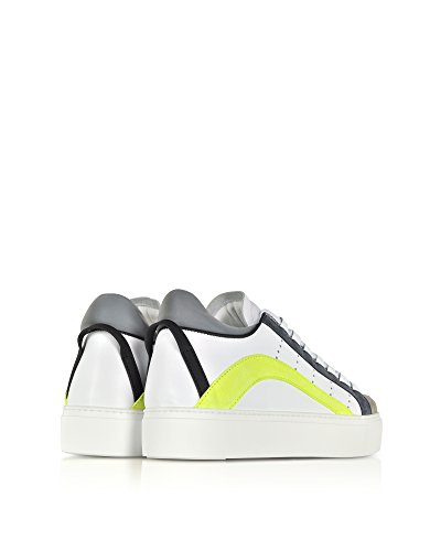 Dsquared2 Herren Snm000313220001m1382 Weiss Leder Sneakers