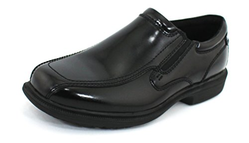 Nunn Bush Men's Bleeker Street Black Leather 11.5 2E US Bleeker Street