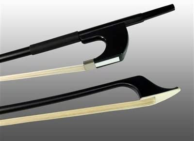 Renewed Glasser G501H-3//4 Horse Hair German Bass Bow 3//4 Size