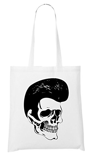 Rockabilly Skull Bag White Certified Freak VUwKbdu